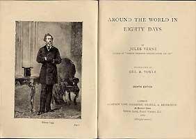 Verne, jules - around the world in 80 days Foto