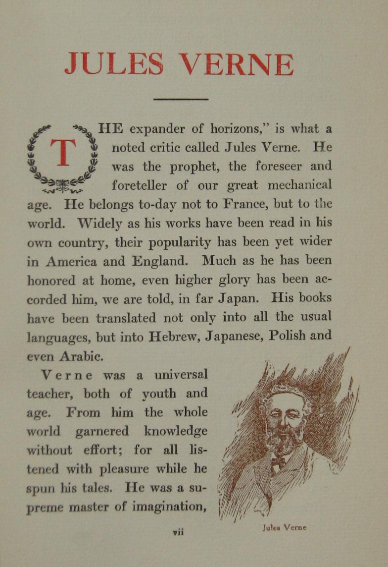 Jules Verne Books Vincent Parke Sets Andrew Nash