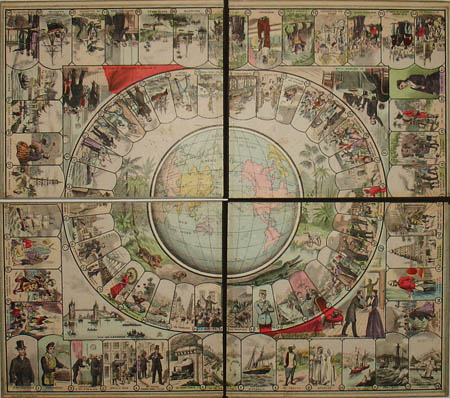 Jules Verne:Tour du monde En 80 jours game1915 - Andrew Nash