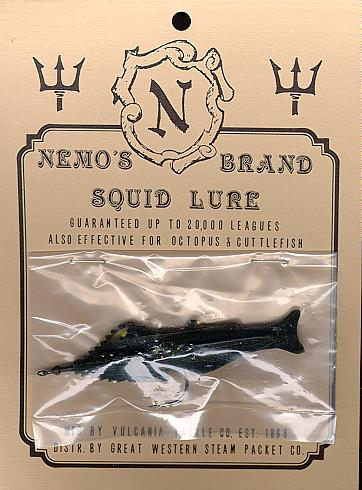 Nautilus Submarine Squid Lure