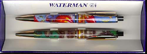 Waterman, Jules Verne Pens, Ball Point