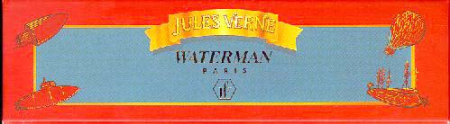 Waterman, Jules Verne Pen, Box